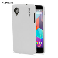 Capdase Karapace Touch Case for Google Nexus 5 - White