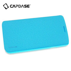 Capdase Sider Baco Folder Case for Galaxy Mega 5.8 - Blue/Blue