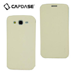 Capdase Sider Baco Folder Case for Galaxy Mega 5.8 - White/Blue