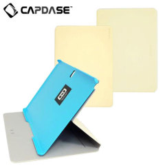 Capdase Sider Baco Folder Case for Galaxy Note 10.1 2014 - White/Blue