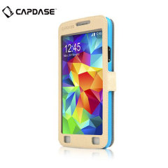 Capdase Sider Baco Folder Samsung Galaxy S5 Case - White