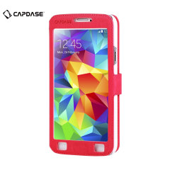 Capdase Sider Baco Samsung Galaxy S5 Folder Case - Red