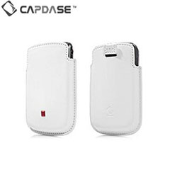 Capdase Smart Pocket For BlackBerry 8520 Curve - White