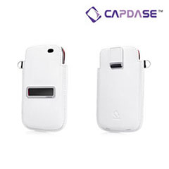 Capdase Smart Pocket for BlackBerry Torch 9860 - White / Red