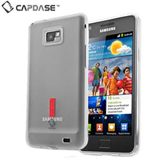 Capdase Soft Jacket 2 Xpose For Samsung Galaxy S2 - Tinted White