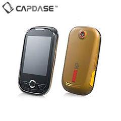 Capdase Soft Jacket 2 Xpose - Samsung Genio Touch - Black