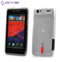 Capdase Soft Jacket Xpose for Motorola Razr - Clear