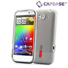 Capdase Soft Jacket Xpose - HTC Sensation XL - Smoke Black