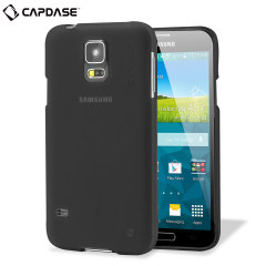 Capdase Soft Jacket Xpose Samsung Galaxy S5 Case - Solid Black