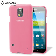 Capdase Soft Jacket Xpose Samsung Galaxy S5 Case - Tinted Pink