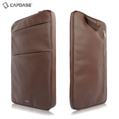 Capdase Urbanite Collection iPad Pro Sleeve Case - Brown