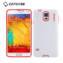 Capdase Vika Soft Jacket Samsung Galaxy S5 Case - White / Red