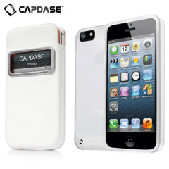 Capdase Xpose & Luxe Case Pack for iPhone 5S / 5  - White