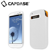 Capdase Xpose & Luxe Case Pack for Samsung Galaxy S3 - White