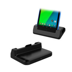 Case-Compatible Desktop Sync and Charge Cradle for Google Nexus 7 2013