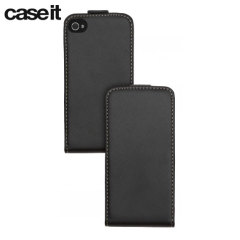 Case It Executive Leather-Style Flip Case - iPhone 4S / 4