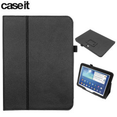Case It Folio Stand Case for Samsung Galaxy Tab 3 10.1 - Black