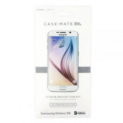 Case-Mate 2 Pack Samsung Galaxy S6 Screen Protector