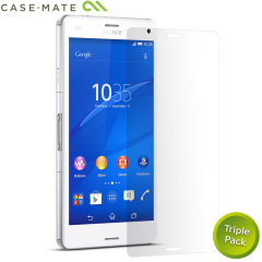 Case-Mate 2 Pack Sony Xperia Z3 Compact Screen Protector