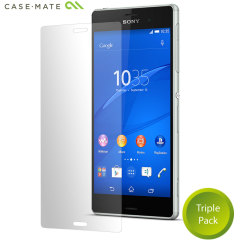 Case-Mate 3 Pack Sony Xperia Z3 Screen Protector