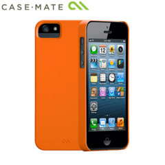 Case-Mate Barely There Case for Apple iPhone 5S / 5 - Electric Orange