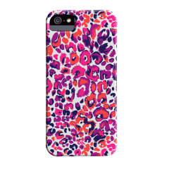 Case-Mate Barely There For iPhone 5/5S - Painted Cheetah