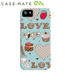 Case-Mate Barely There for iPhone 5S / 5 - Love