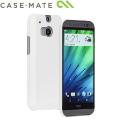 Case-Mate Barely There HTC One M8 Case - White