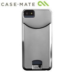 Case-Mate Barely There ID for IPhone 5/5S - Chrome