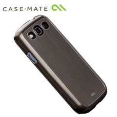 Case-Mate Brushed Aluminium for Samsung Galaxy S3 i9300 - Silver