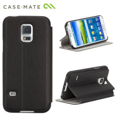 Case-Mate Galaxy S5 Mini Slim Folio Case - Black