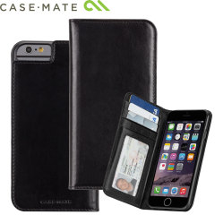 Case-Mate Leather Wallet Folio iPhone 6 Case - Black