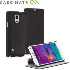 Case-Mate Samsung Galaxy Note 4 Stand Folio Case - Black