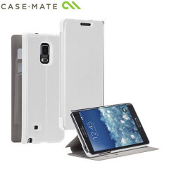Case-Mate Samsung Galaxy Note Edge Stand Folio Case - White