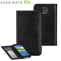 Case-Mate Samsung Galaxy S5 Wallet Folio Case - Black