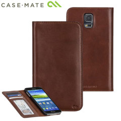 Case-Mate Samsung Galaxy S5 Wallet Folio Case - Brown
