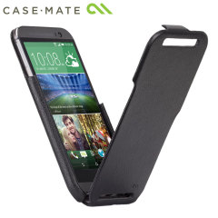 Case-mate Signature Flip Case for HTC One M8 - Black