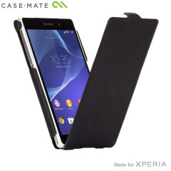 Case-Mate Slim Flip Case for Sony Xperia Z2 - Black