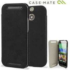 Case-Mate Slim Folio Case for HTC One M8 - Black