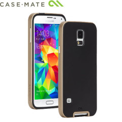 Case-Mate Slim Tough Case for Samsung Galaxy S5 - Black / Gold