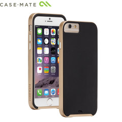 Case-Mate Slim Tough iPhone 6 Case - Black / Gold