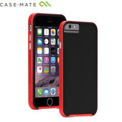 Case-Mate Slim Tough iPhone 6S / 6 Case - Black / Red