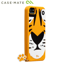 Case-mate Tigris Creatures Cases for Apple iPhone 5S / 5 - Tiger