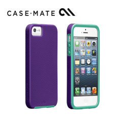 Case-Mate Tough Case for iPhone 5/5S - Violet Purple/Pool Blue