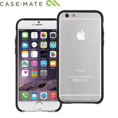 Case-Mate Tough Frame iPhone 6 Bumper - Clear / Black