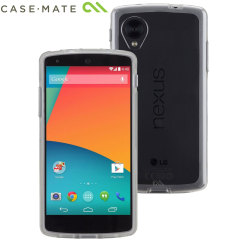 Case-Mate Tough Naked case for Google Nexus 5 - Clear