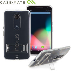 Case-Mate Tough Naked Google Nexus 6 Case with Stand - Clear
