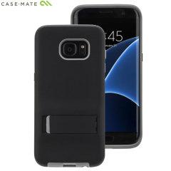 Case-Mate Tough Stand Samsung Galaxy S7 Edge Case - Black