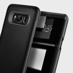 Caseology Fairmont Samsung Galaxy S8 Leather-Style Case - Black