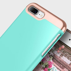 Caseology Savoy Series iPhone 7 Plus Slider Case - Turquoise Mint